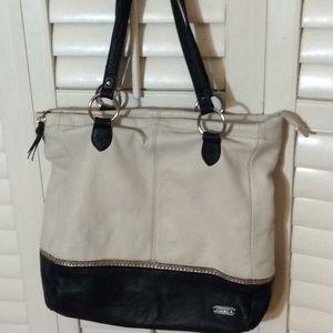 """Large Leather The SAK Shoulder Bag/Tote 14x17"""""""
